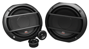 Picture of Terminator TNS65 6.5 inch 2-Way 45W RMS 4 Ohm Component Speaker Pair