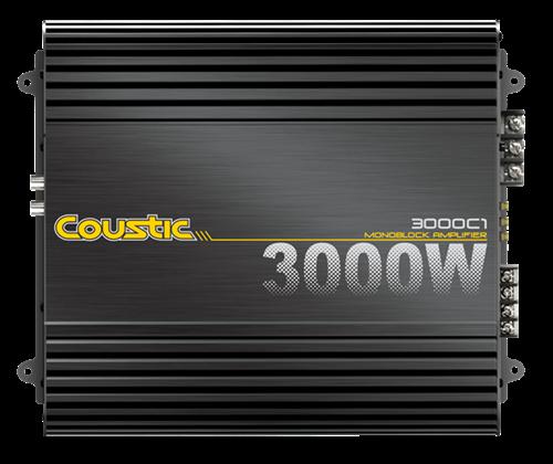 Picture of Coustic 3000C1 650W RMS Mono Block Class D Amplifier