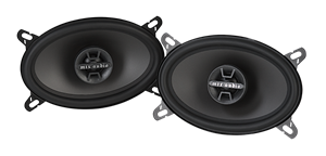 Picture of TDX Series TDX46 4 inch x 6 inch 2-Way 40W RMS Coaxial Speaker Pair