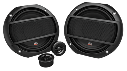 Picture of Terminator TNS52 5.25 inch 2-Way 35W RMS 4 Ohm Component Speaker Pair