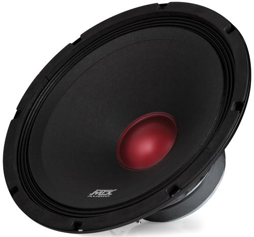 RTX128 Car Midbass Speaker Front Angle