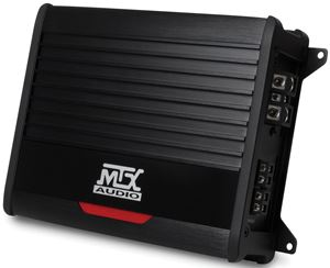 THUNDER500.1 Mono Block Car Audio Amplifier Front Angle