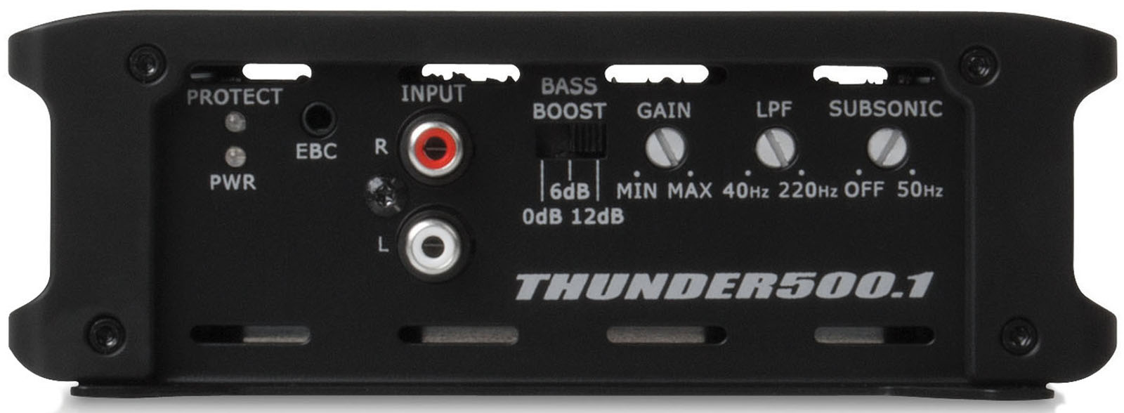 thunder series 500 watt rms class d mono block amplifier. Black Bedroom Furniture Sets. Home Design Ideas
