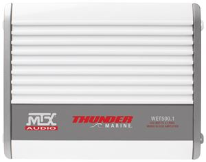 WET500.1 Marine Amplifier Front