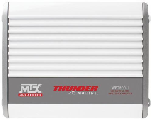 WET500.1 Marine Amplifier Front