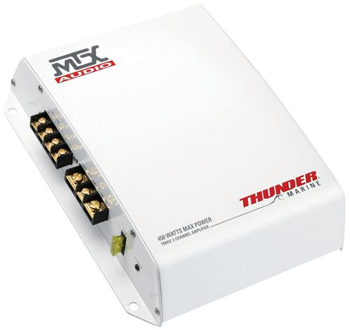 Picture of Thunder Marine TM452 150W RMS 2-Channel Class A/B Amplifier