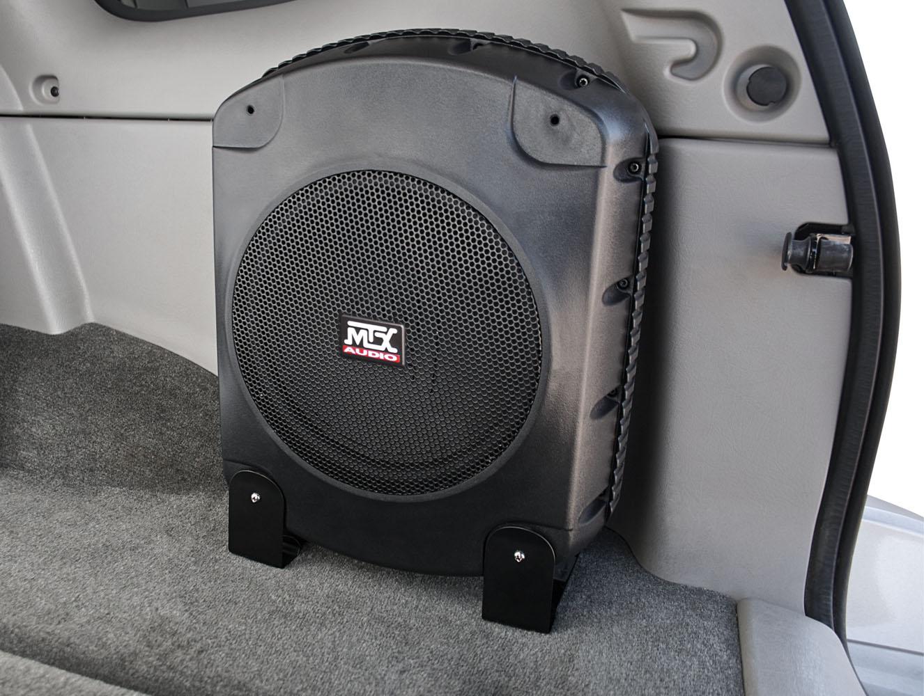 Xtl110p Powered Car Subwoofer Enclosure Mtx Audio