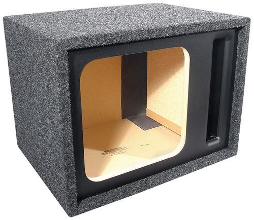 Picture of BassSlammer BS112V-SQ 12 inch Vented Square Unloaded Subwoofer Enclosure