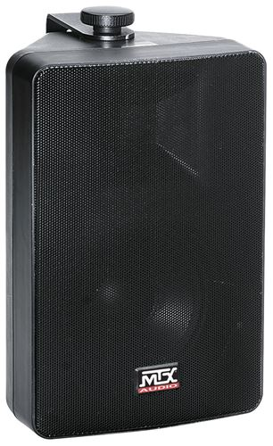 AW52-B All-Weather Black Speaker Front