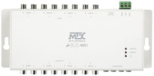 Picture of A-BUS ABUS-MS1 4 Source Input Module, use with A-BUS-HUB1X4