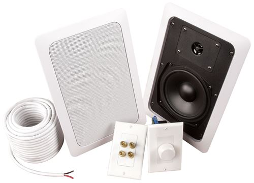 Picture of MUSICA ADZ502W 5.25 inch 2-Way In-Wall Add A Zone Speaker Kit