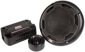 "Picture of 5.25"" 2- Way 90-Watt RMS 4Ω Component Speaker Pair"