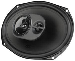 "Picture of 6"" x 9"" 3-Way 60-Watt RMS 4Ω Triaxial Speaker Pair"