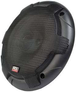TERMINATOR653 Coaxial Car Speaker Front Angle with Grille