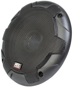 TERMINATOR522 Coaxial Car Speaker Front Angle with Grille