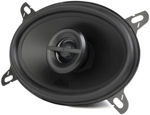 TERMINATOR462 Coaxial Car Speaker Front Angle