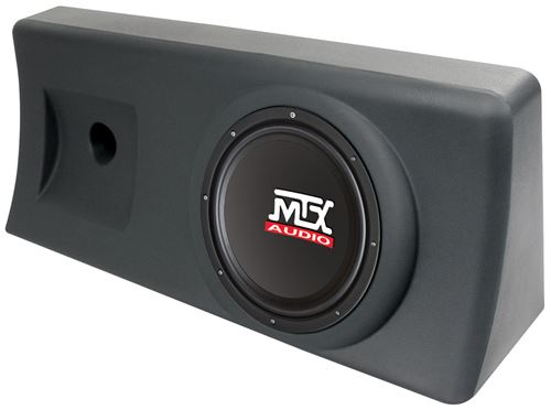 "Picture of S1010AC-TN Amplified 10 inch 200W RMS Enclosure Fits 12"" x 32"" x 8"" Mounting Space"