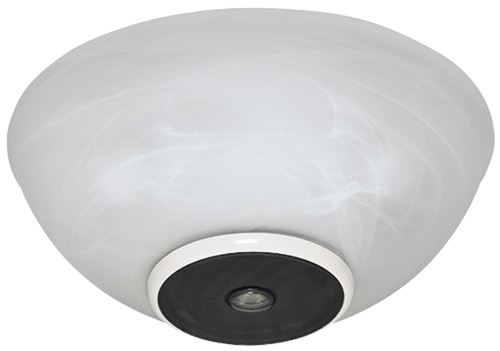 Picture of CSLK-11 Wireless Speaker Light Kit with Snow White Finish and Swirled Marble Glass