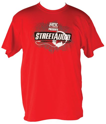 Picture of Small Red MTX StreetAudio T-Shirt