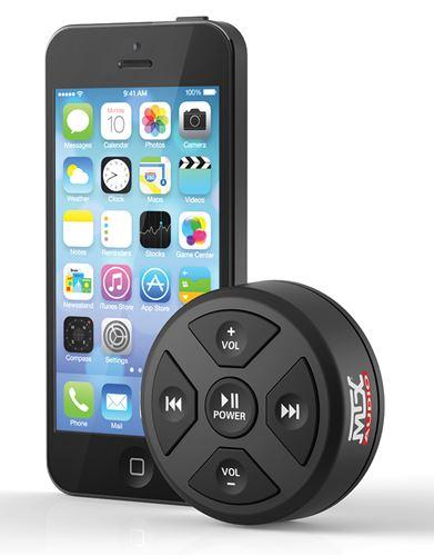 MUDBTRC Bluetooth Remote Control/Receiver Size Comparison