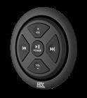 MUDBTRC Bluetooth Remote Control/Receiver Flush Mount