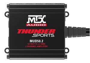 MUD50.2 All-Weather 2-Channel UTV Amplifier Front