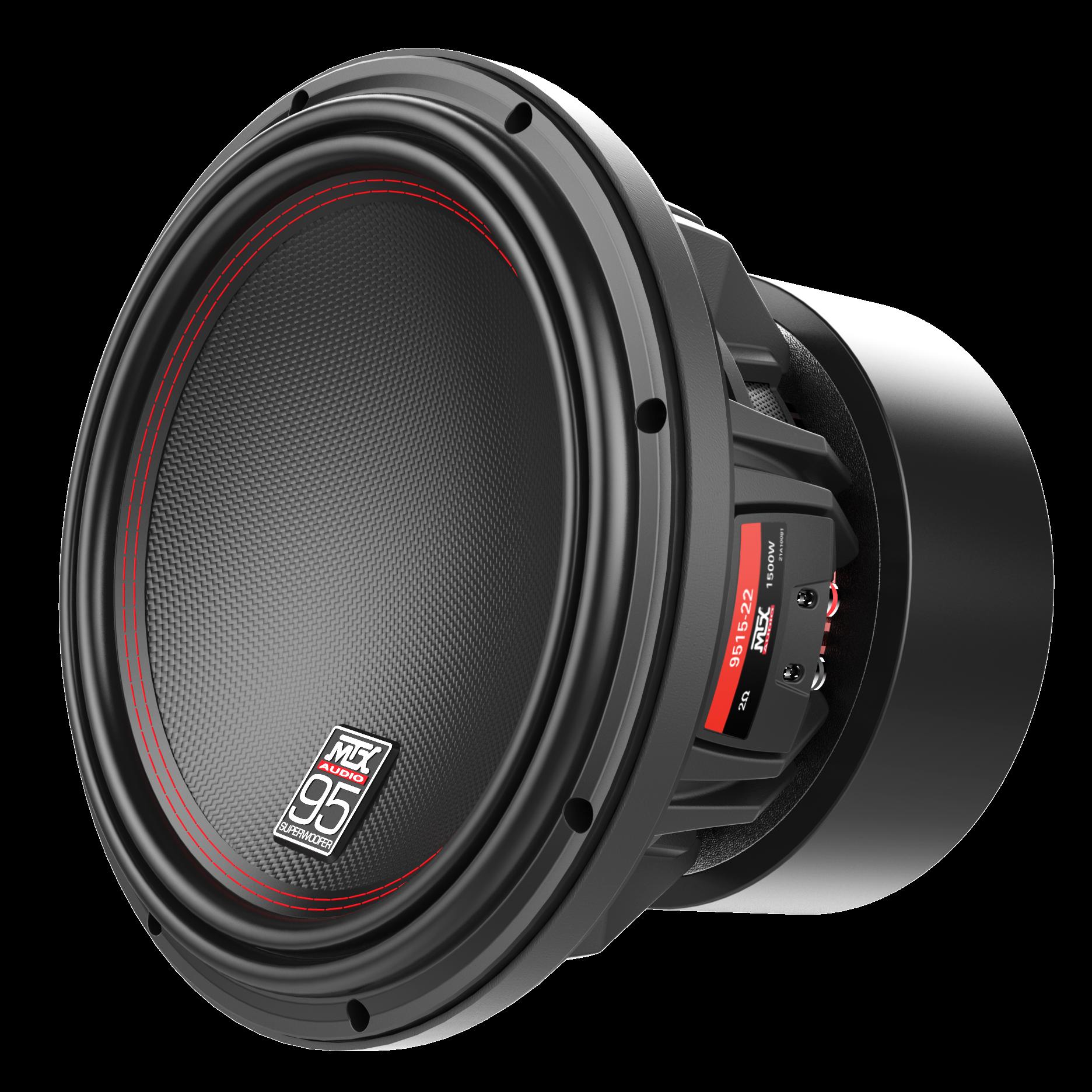 "95 Series 15"" 2Ω Dual Voice Coil Subwoofer MTX Audio"