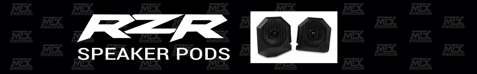 MTX Releases Polaris RZR Specific Speaker Pods