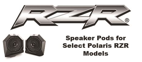 MTX Releases Polaris RZR Specific Speaker Pods