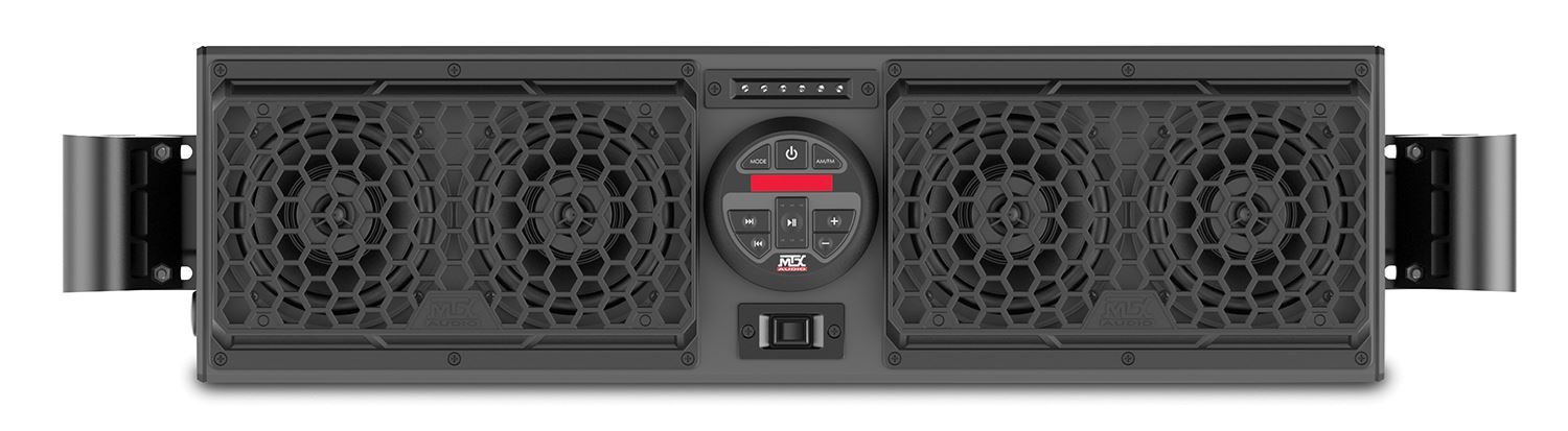 Rzrboakit1 Polaris Rzr Bluetooth Overhead Audio System And
