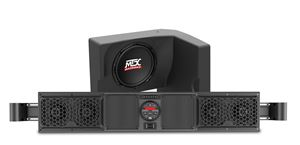 Picture of Polaris Ranger Bluetooth Overhead Audio System and Amplified Subwoofer