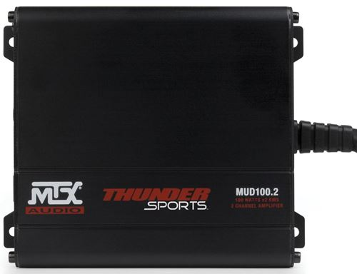 MUD100.2 All-Weather 2-Channel Amplifier Front