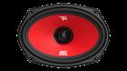 "Picture of 6"" x 9"" 3-Way 60-Watt RMS 4Ω Coaxial Speaker Pair"