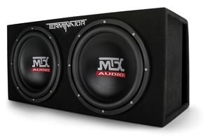 "Picture of Dual 12"" 1000-Watt RMS Vented Subwoofer Enclosure"