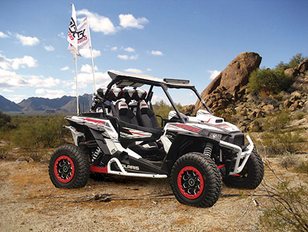 MTX Custom Polaris RZR 1000 with Audio