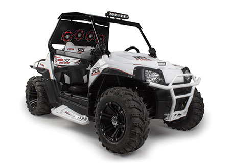 MTX Custom Polaris RZR 170 with Audio