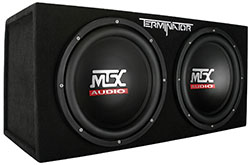 MTX Sealed Subwoofer Enclosure