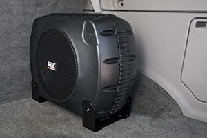 MTX XTL110P Complete Car Subwoofer Package