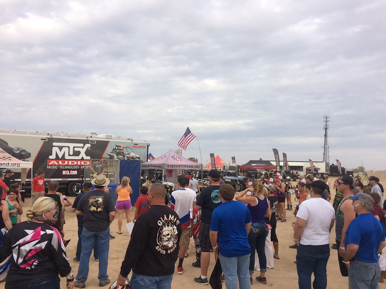 Camp RZR Crowd