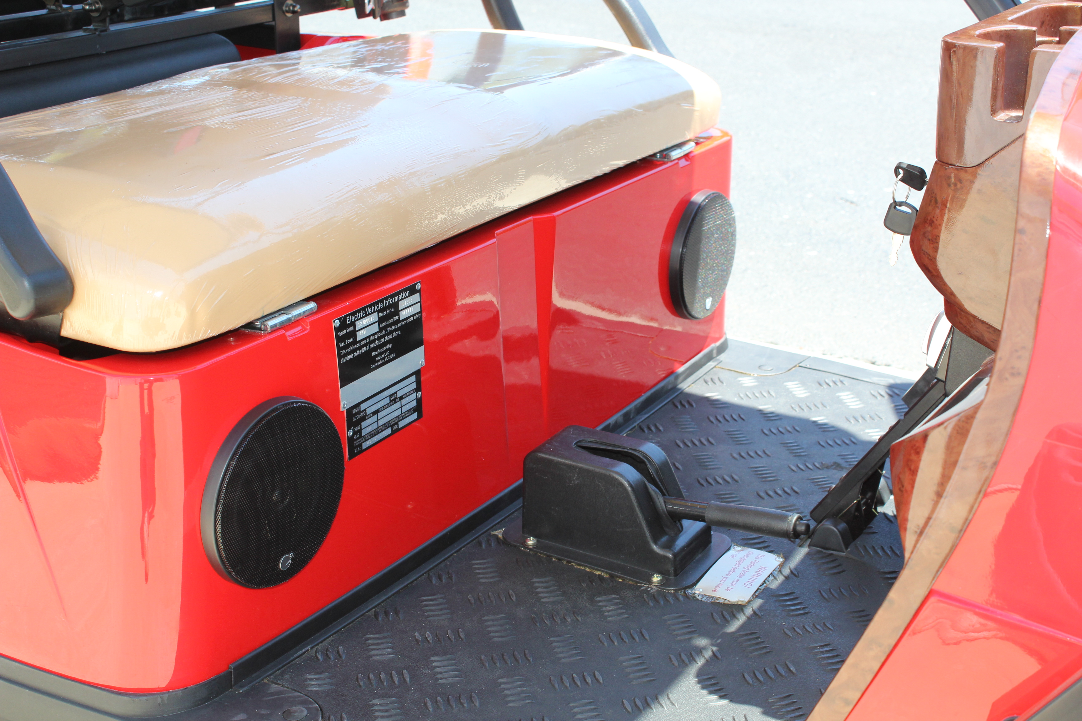 Golf Cart with MTX Audio 2